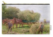 Haymaking Carry-all Pouch by Arthur Hopkins