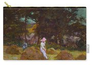 Haymaking  Carry-all Pouch by Elizabeth Adela Stanhope Forbes