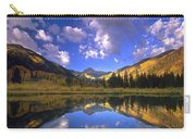 Haystack Mountain Reflected In Beaver Pond Carry-all Pouch