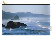 Haystack Rocks In Cannon Beach Carry-all Pouch