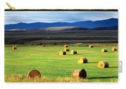 Haystacks, Field, Jackson County Carry-all Pouch