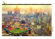 Haze Over Comerica Carry-all Pouch