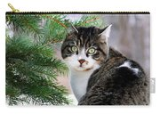 Hazel Eyes And Pine Carry-all Pouch by Christina Rollo