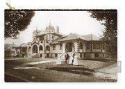 Hazel Hawkins Hospital Monterey Street Hollister California Circa 1907 Carry-all Pouch