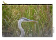 Hazy Day Heron Carry-all Pouch