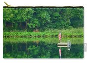Hazy Summer - Patriotic Dock Carry-all Pouch