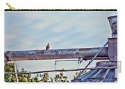 Hdr Bird On A Pipeline II Carry-all Pouch