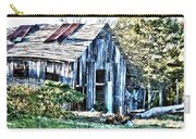 Hdr Tin Patch Roof Barn Carry-all Pouch