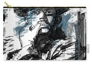 He Calls It Home - Blue Carry-all Pouch