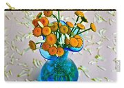 He Loves Me Bouquet Carry-all Pouch by Frozen in Time Fine Art Photography