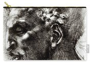 Head Of A Satyr  Carry-all Pouch