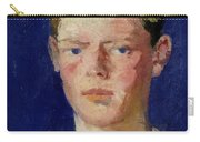 Head Of A Young Man Carry-all Pouch by Francis Campbell Boileau Cadell