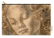 Head Of An Angel Carry-all Pouch