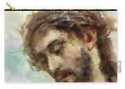 The Head Of Christ Carry-all Pouch