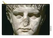 Head Of Nero Carry-all Pouch by Anonymous