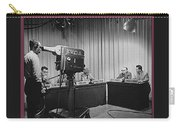 Head Of Production Lowell Cable Cameraman Panel  Kvoa Tv Circa 1955 Color Added 2013 Carry-all Pouch