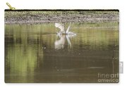 Headless Snowy Egret Of Rum Creek Carry-all Pouch