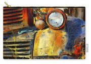 Headlight On A Retired Relic Abstract Carry-all Pouch