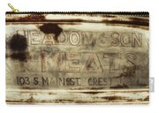 Headon And Son Carry-all Pouch