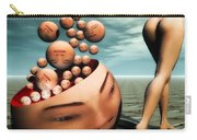 Heads Carry-all Pouch by Bob Orsillo