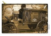 Hearse Poster Carry-all Pouch by Crystal Loppie