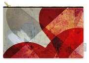 Hearts 8 Square Carry-all Pouch