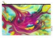 Heart Attack Watercolor Abstraction Painting Carry-all Pouch