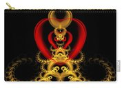 Heart In Chains Carry-all Pouch by Sandy Keeton