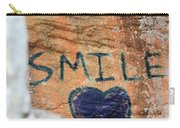 Heart In Sandstone Mountain Carry-all Pouch