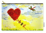 Heart Kite Carry-all Pouch