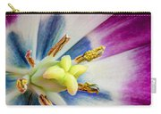 Heart Of A Tulip - Square Carry-all Pouch
