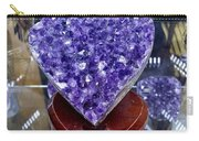 Heart Of Amethyst Carry-all Pouch