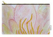 Heart Of Aqualily Carry-all Pouch