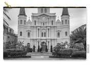 Heart Of The French Quarter Monochrome Carry-all Pouch