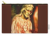 Heart Of The Savior Carry-all Pouch