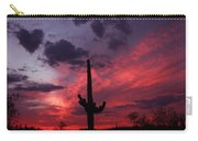 Heart Of The Sunset Carry-all Pouch