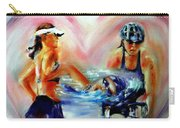 Heart Of The Triathlete Carry-all Pouch