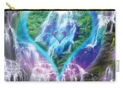 Heart Of Waterfalls Carry-all Pouch
