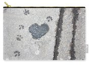 Heart On Sidewalk Carry-all Pouch
