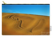 Heart In The Sand Dunes Carry-all Pouch