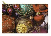 Heart Ornament With Ribbon Carry-all Pouch