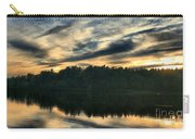 Heart Pond Sunset Carry-all Pouch