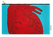Heart Red Carry-all Pouch