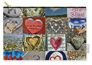 Heart Shape Collage  Carry-all Pouch
