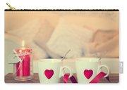 Heart Teacups Carry-all Pouch