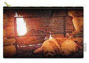 Hearth Warming Pencil Sketch Carry-all Pouch
