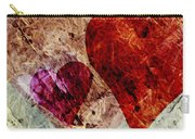 Hearts 10 Square Carry-all Pouch