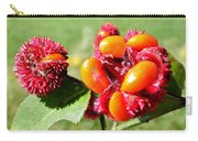 Hearts-a-bursting Seed Pods Carry-all Pouch by Duane McCullough