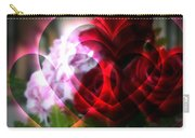 Hearts A Fire Carry-all Pouch