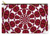 Hearts And Orchids Kaleidoscope Carry-all Pouch